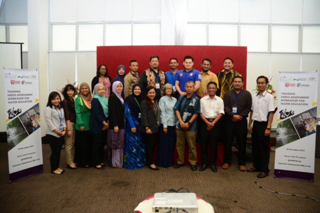TRAINING NEEDS ASSESSMENT WORKSHOP FOR WATER EDUCATION – 20 November 2014, Puri Pujangga, Universiti Kebangsaan Malaysia